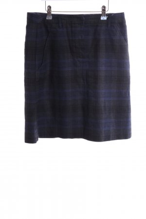 Cinque Miniskirt blue-black check pattern casual look