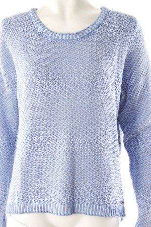 Cinque Pullover blau weiß