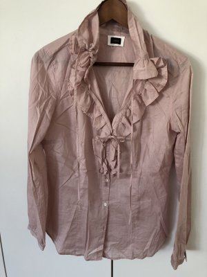 Cinque Ruffled Blouse pink-dusky pink