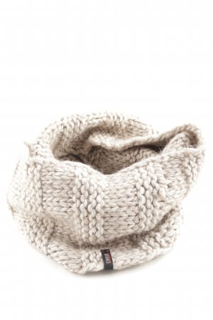 Cinque Snood natural white cable stitch casual look
