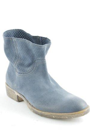 Cinque Schlüpf-Stiefeletten graublau-graubraun Casual-Look