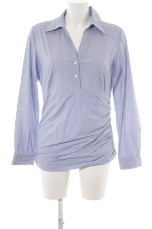 Cinque Schlupf-Bluse himmelblau-weiß Streifenmuster Casual-Look