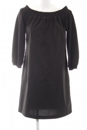 Cinque schulterfreies Kleid schwarz Casual-Look
