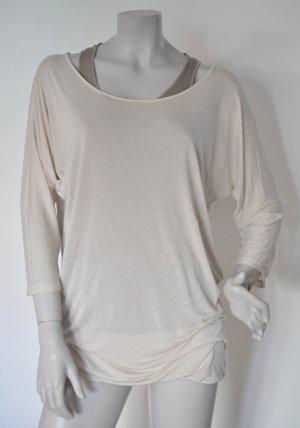 Cinque Shirt SOFIA Lagenlook Modal nude taupe Gr. 42