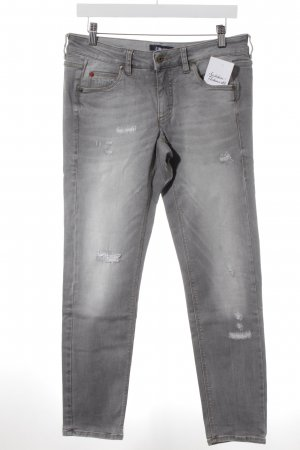 Cinque Jeans slim fit grigio chiaro-grigio stile casual