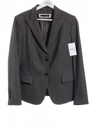 Cinque Smoking-Blazer grau Fischgrätmuster Business-Look