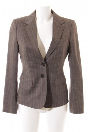 Cinque Smoking-Blazer hellbraun-braun Streifenmuster Business-Look