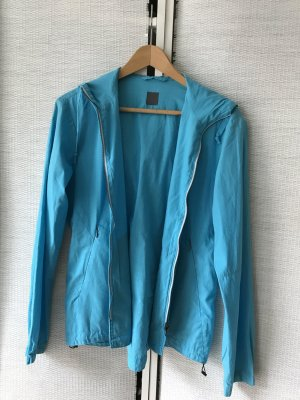 CINQUE Sommerjacke leichte Baumwolljacke in freundlichem Blau-Türkis