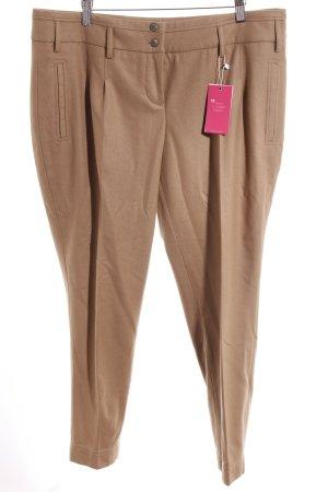 Cinque Pantalone jersey color cammello stile professionale