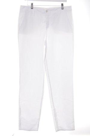 Cinque Pantalone jersey bianco stile classico