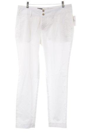 Cinque Pantalone jersey bianco stile da moda di strada