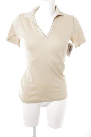 Cinque T-Shirt beige sportlicher Stil