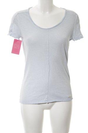 Cinque T-Shirt hellgrau Allover-Druck Casual-Look