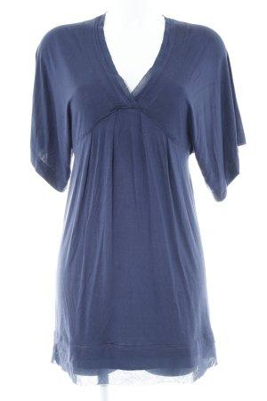 Cinque Vestido tipo túnica azul