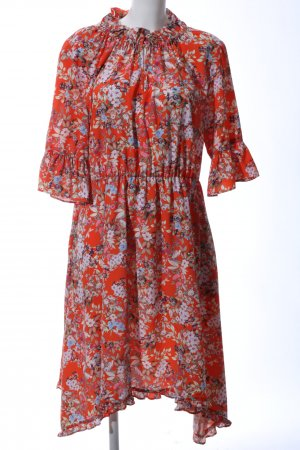Cinque Flounce Dress flower pattern casual look