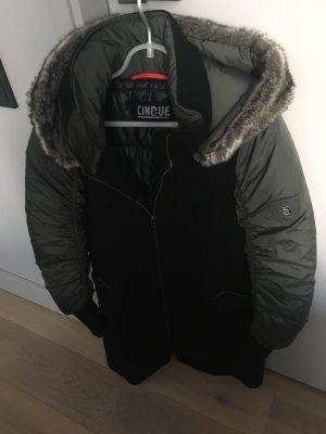Cinque Winter Coat black-khaki