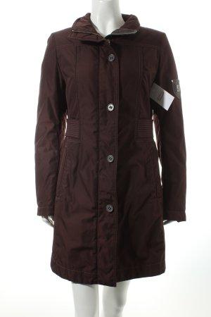 Cinque Wintermantel braunviolett-schwarz klassischer Stil