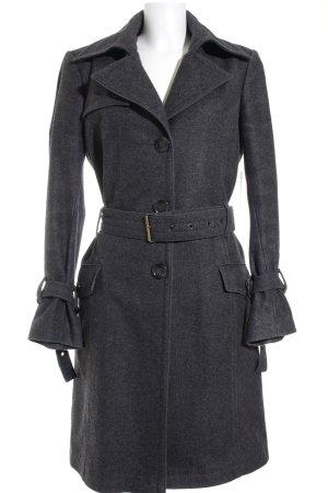 Cinque Cappotto invernale grigio scuro stile classico