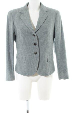 Cinque Blazer en laine gris clair torsades style d'affaires