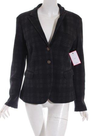 Cinque Woll-Blazer schwarz-grau Karomuster Casual-Look