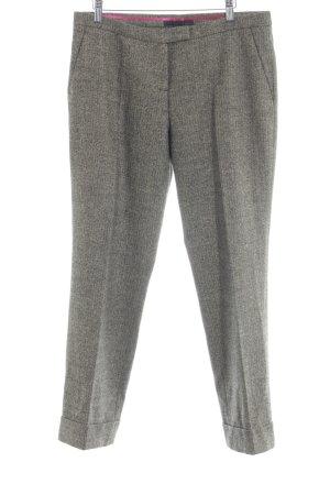 Cinque Wollen broek beige-donkerbruin gestippeld casual uitstraling