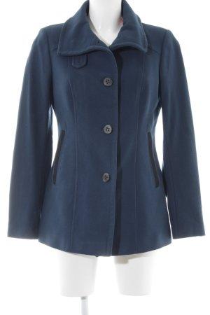 Cinque Giacca di lana blu scuro stile casual