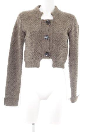 Cinque Wool Jacket grey brown fluffy