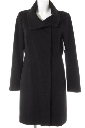 Cinque Abrigo de lana negro look casual