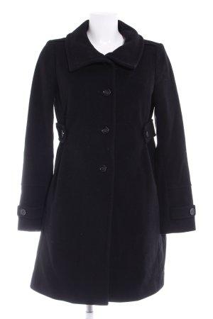 Cinque Wollen jas zwart casual uitstraling