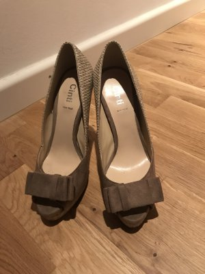 CINTI Peep Toe Pumps