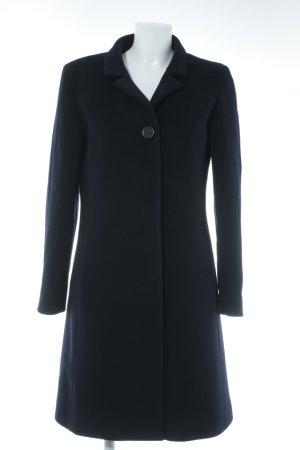 Cinzia Rocca Manteau d'hiver bleu foncé style d'affaires