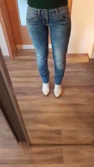 Cipo & Baxx Tube Jeans multicolored