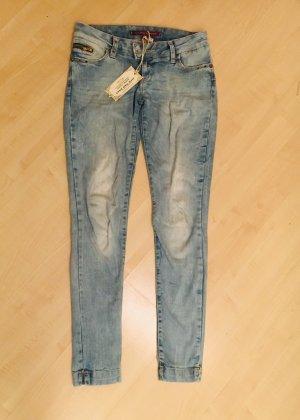 Cipo & Baxx Jeans taille basse multicolore
