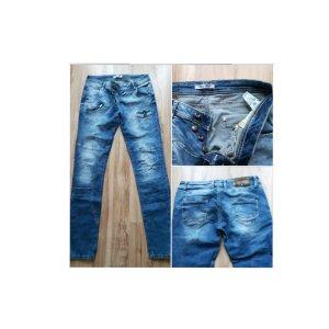 Cipo & Baxx Straight Leg Jeans azure