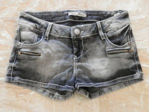 Cipo & Baxx Hot Pants black-grey