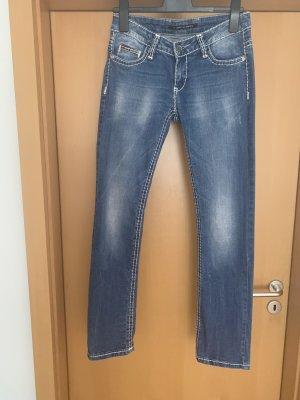 Cipo & Baxx Tube Jeans blue