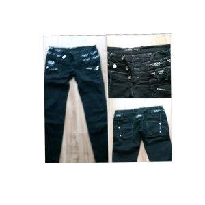 Cipo & Baxx Straight Leg Jeans black