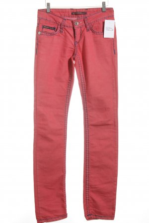 Cipo & Baxx Slim Jeans rot Casual-Look