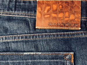 Circle of Gentlemen Jeans stretch bleu-bleu foncé