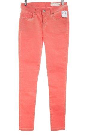 Circle of Trust Jersey Pants light orange casual look