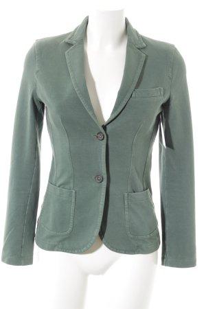 Circolo Jerseyblazer grün Casual-Look