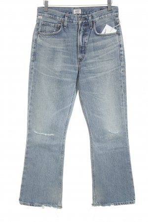 Citizens of Humanity Boot Cut Jeans blau Casual-Look