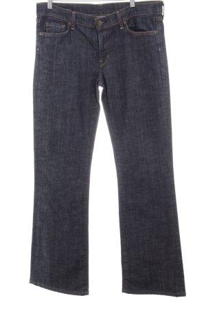 Citizens of Humanity Boot Cut Jeans blau-dunkelblau Casual-Look
