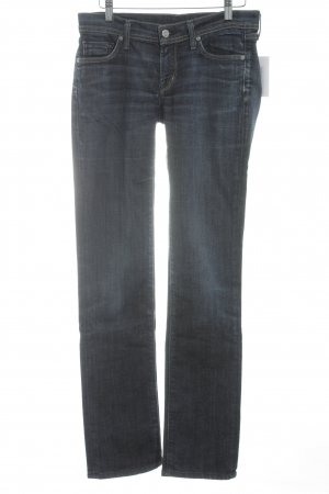 Citizens of Humanity Boot Cut Jeans blau Street-Fashion-Look