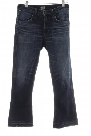 "Citizens of Humanity Boot Cut Jeans ""Drew Crop Flare"" blau"