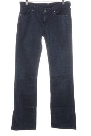 Citizens of Humanity Boot Cut Jeans dunkelblau schlichter Stil