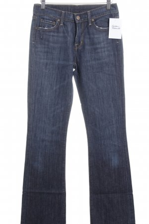 Citizens of Humanity Boot Cut Jeans dunkelblau-stahlblau Casual-Look