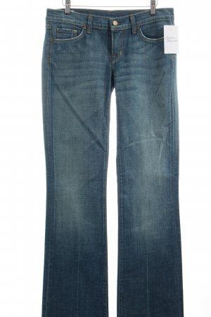 Citizens of Humanity Boot Cut Jeans dunkelblau Used-Optik