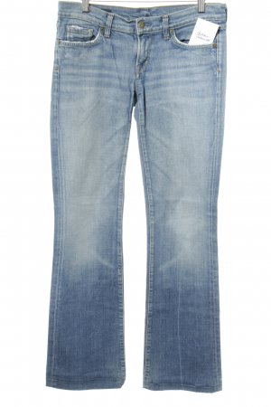 Citizens of Humanity Boot Cut Jeans kornblumenblau Casual-Look