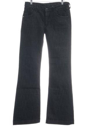 Citizens of Humanity Boot Cut Jeans schwarz schlichter Stil